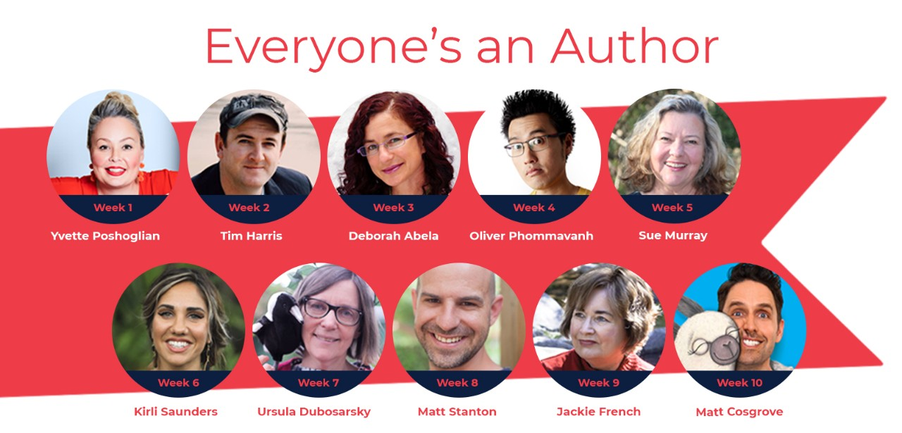 Everyone's an Author is a creative writing program featuring ten great Aussie authors! Suited to Stages 1-4 with a focus on English...