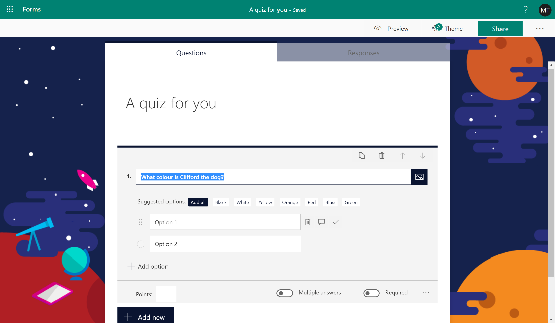 Microsoft Forms Math feature A quiz for you