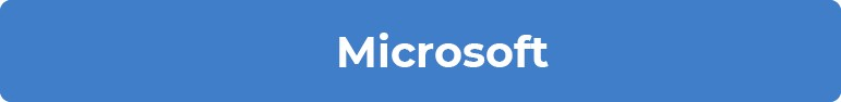 Blue heading for Microsoft